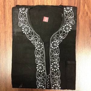 Unisex Cotton Embroidered Kurta - 16