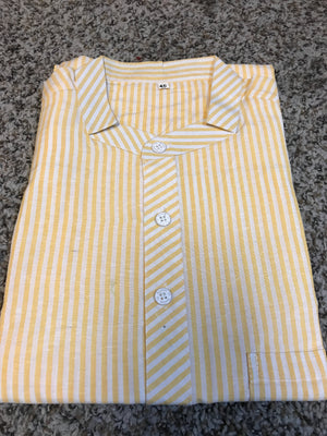 MEN'S SHORT KHADI COTTON KURTA