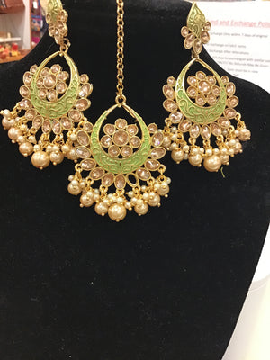 Earring and Tikka set