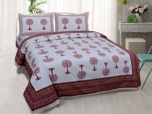 Indian Cotton Hand Block Print Sheet Set
