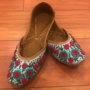 Punjabi JUTTI,Mojari Shoes, Indian Ethnic Shoes, Women Mojaris,/ Khussa