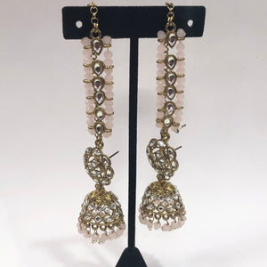 Royal Antique Gold Earring