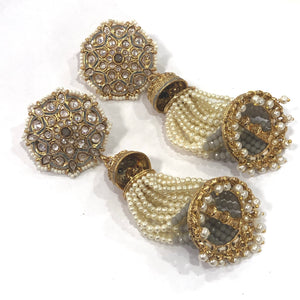 Kundan Tikka and Earring Set