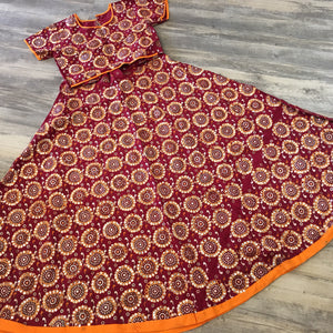 Traditional Ghaghra Choli - Sarang