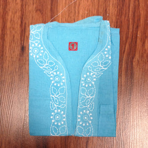 Unisex Cotton Embroidered Kurta - 6
