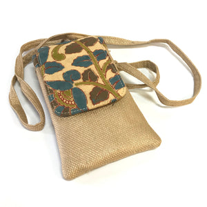 KALAMKARI Clutch & Mobile Bag