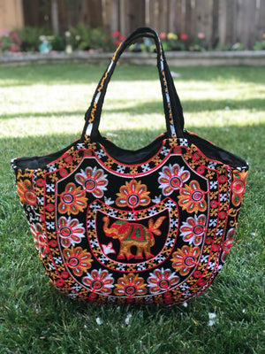 Women Tribal Banjara Bag Vintage Handmade Boho Bags Ladies Bag Embroidery Shoulder Bag B