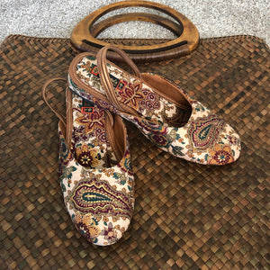 HANDCRAFTED COTTON Shoes -GIRLS