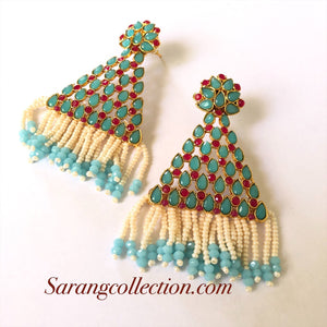 Light Blue Earrings