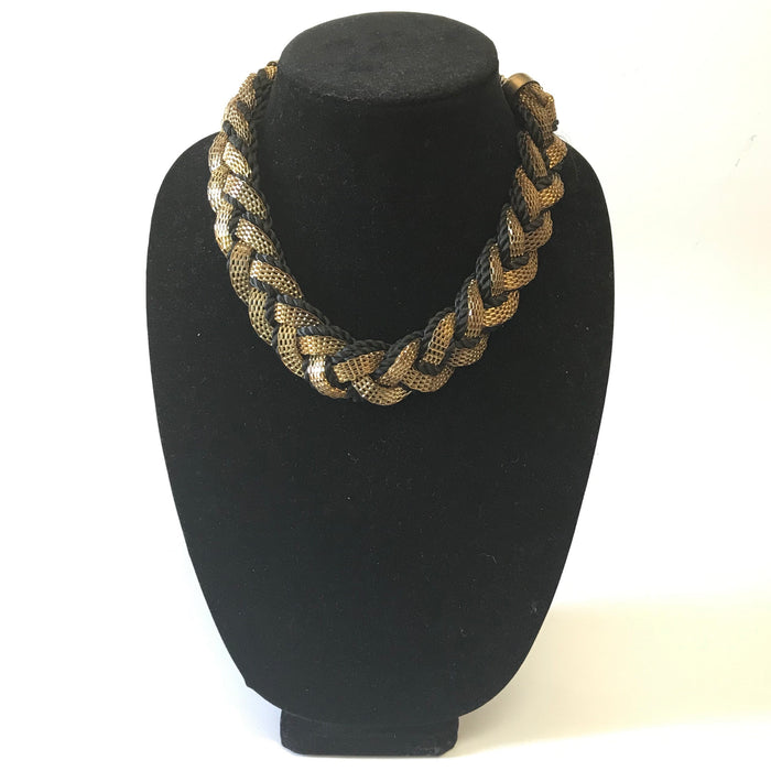 Black Thread Necklace