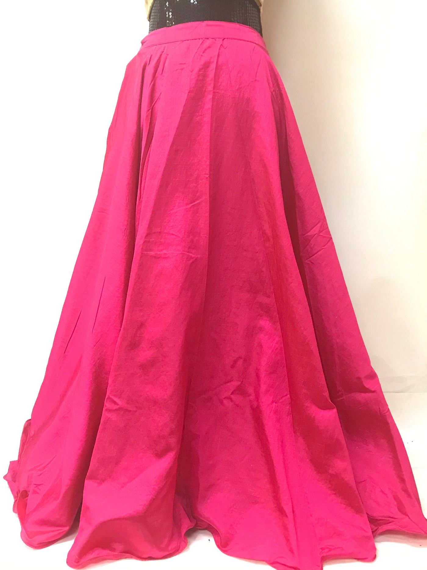 357ac64226 Plain Silk Long Skirts