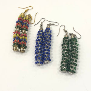 Bead Work Earrings