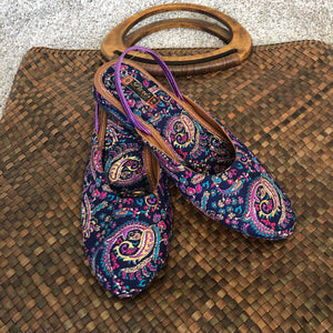 HANDCRAFTED COTTON Shoes - GIRLS