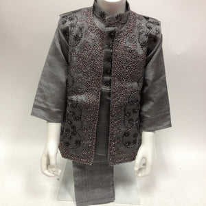 Indian Kurta Sherwani Suit (3 pcs) - Sarang