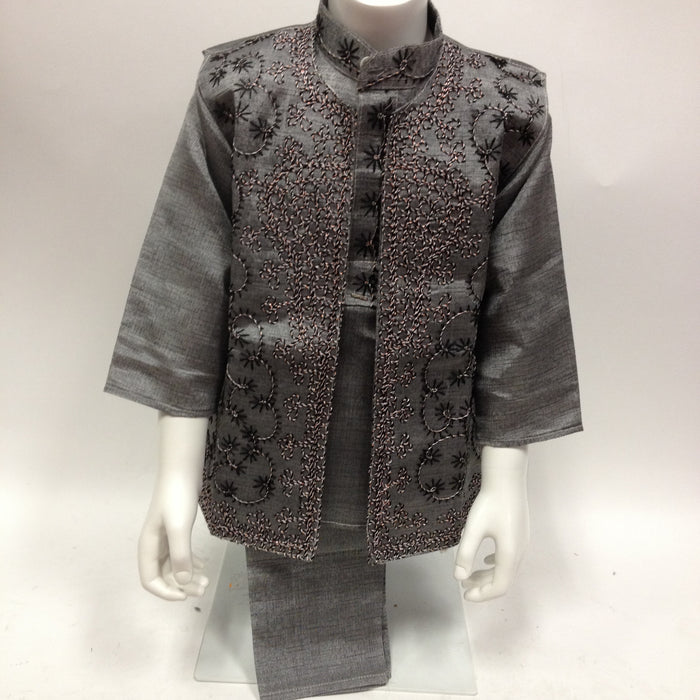 Indian Kurta Sherwani Suit (3 pcs)