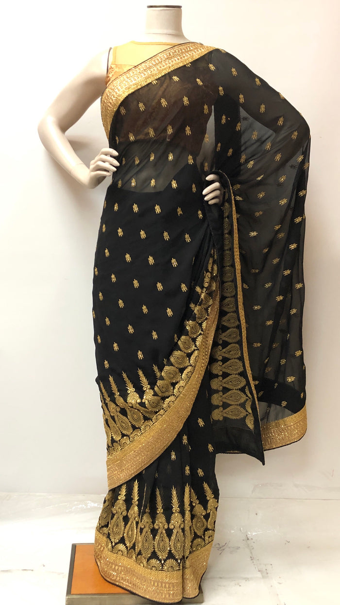 Chiffon Party Wear Saree