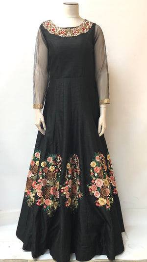 FORMAL EMBROIDERED DRESS