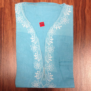 Unisex Cotton Embroidered Kurta - 14