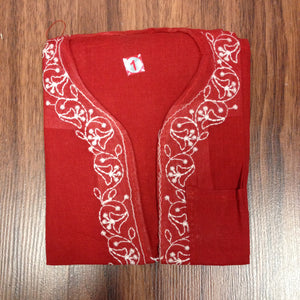 Unisex Cotton Embroidered Kurta - 3