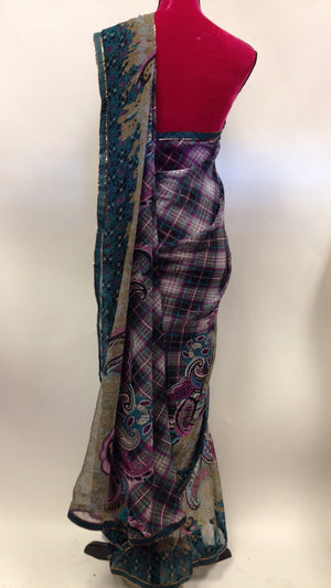 Printed Georgette Saree - 4