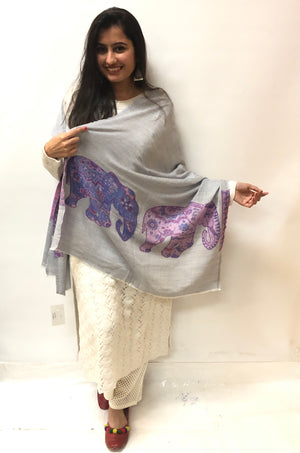New Hand Woven Pashmina Scarf/Stole