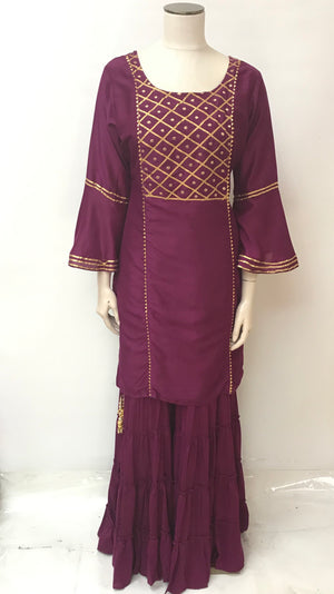 PARTYWEAR SHARARA SET