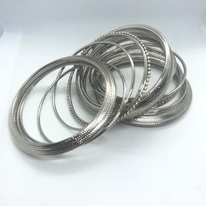Indian jewelry,silver oxidised jewelry,oxidised bangles, bangles set