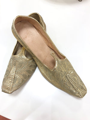 Men's Punjabi Juti - Gold
