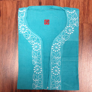 Unisex Cotton Embroidered Kurta - 12