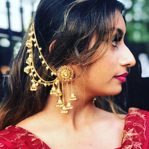 Bahubali chandelier Earrings