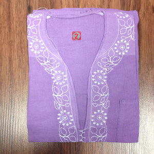 Unisex Cotton Embroidered Kurta - 10