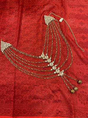 Long Layered Necklace - Golden