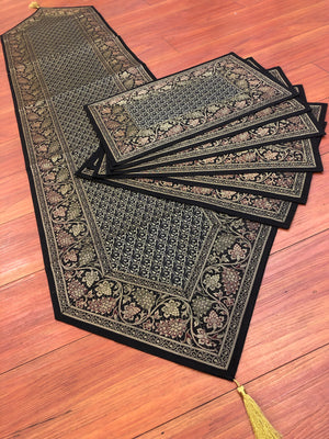 Table Mats And Runner Set