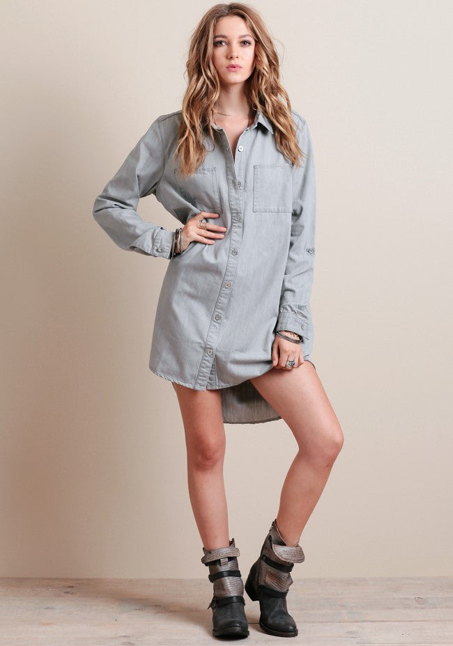 Evil Twin Vapour Shirt Dress