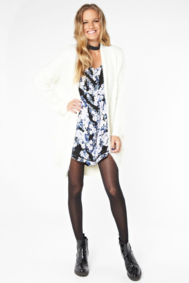 Moonlit Fountain Playsuit