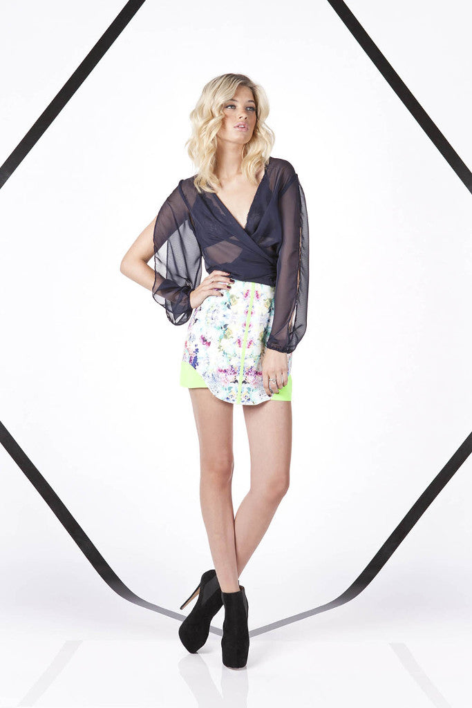 Finders Keepers the Label All the Colours Skirt