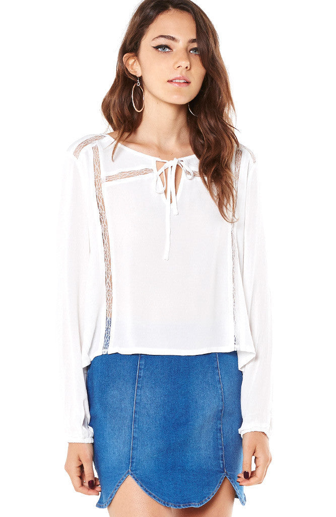 Mink Pink Final Wish Blouse
