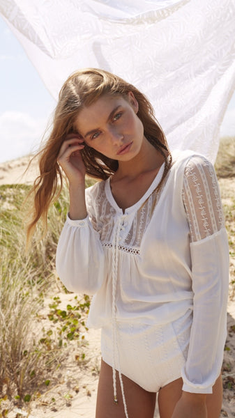 Somedays Lovin Caves Embroidered Blouse