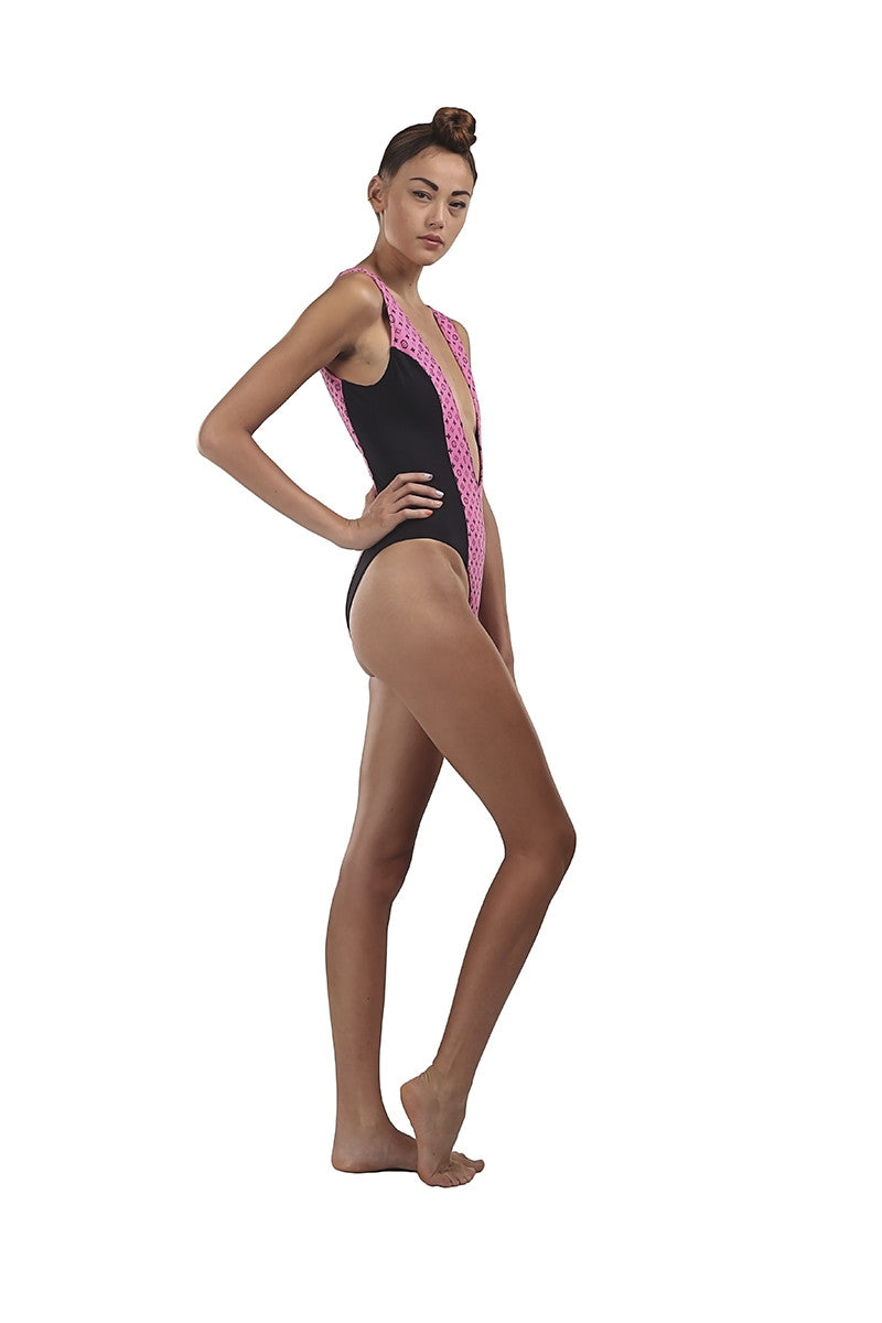This Is A Love Song Neoprene Bling Monokini