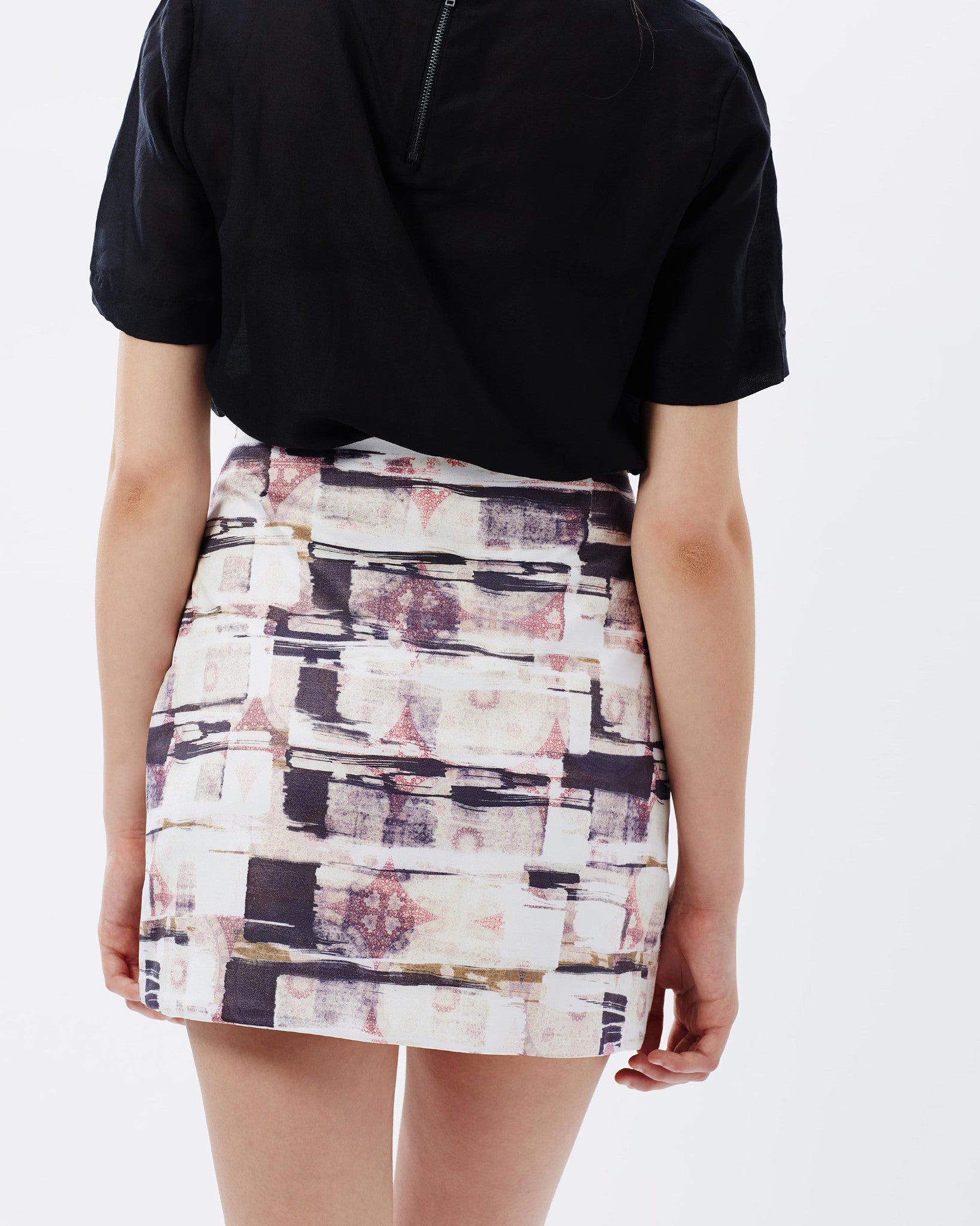 Nana Judy Bordeaux Skirt