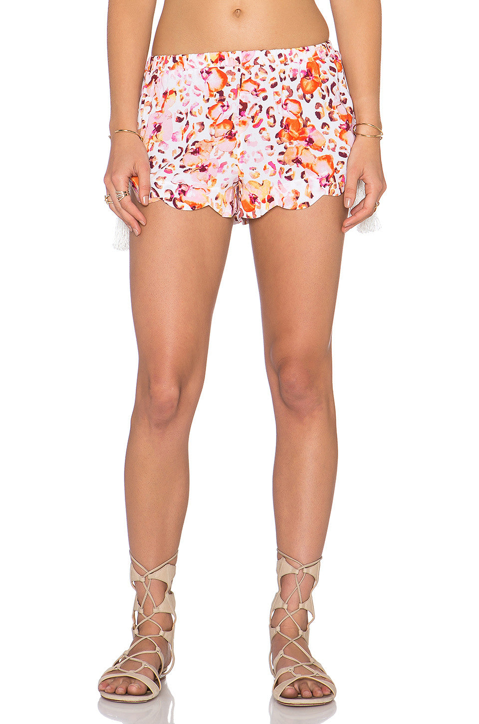Mink Pink Sea Animal Scalloped Cami