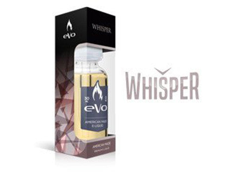 Whisper from Nicopure / eVo  buy from The Vaporium