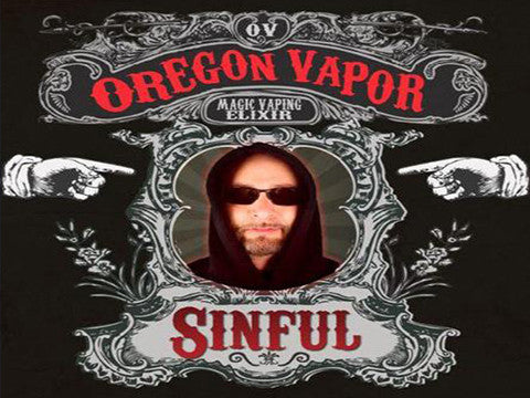 SINFUL from Oregon Vapor  buy from The Vaporium