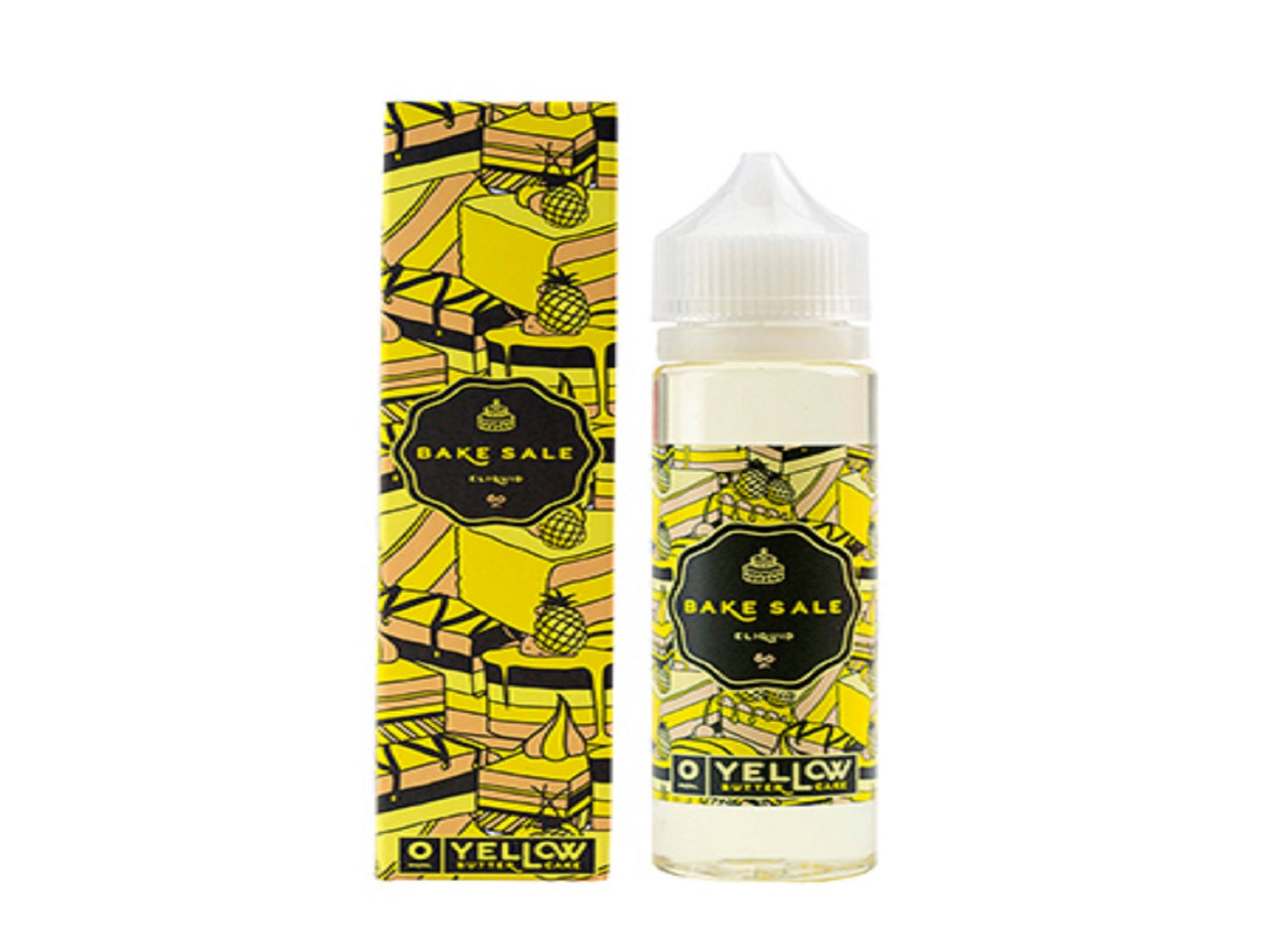 Yellow butter cake from Charlies Chalk Dust  buy from The Vaporium