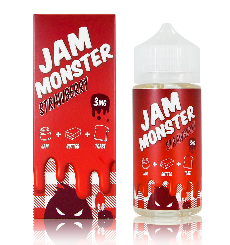 Jam Monster Strawberry from Not specified  buy from The Vaporium