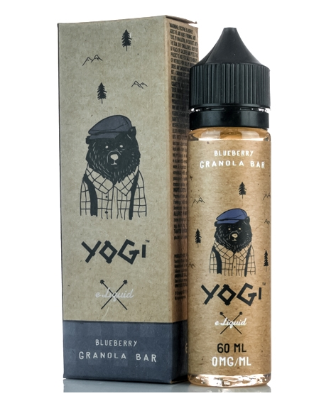 Blueberry Granola Bar from Yogi  buy from The Vaporium