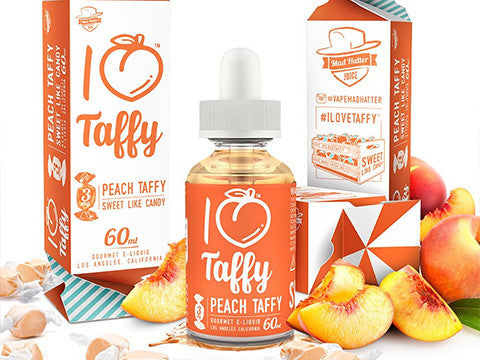 I Love Taffy from Mad Hatter Juice  buy from The Vaporium