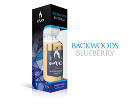 Backwoods Blueberry from Nicopure / eVo  buy from The Vaporium