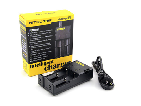 NiteCore i2 Charger from Vaped Out Distribution  buy from The Vaporium