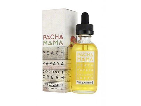 Peach Papaya Coconut from Charlies Chalk Dust  buy from The Vaporium